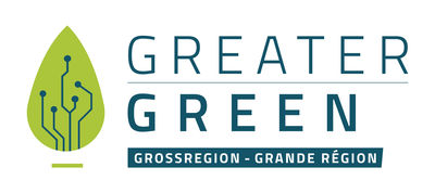 Logo des Interreg-Projekts Greater Green