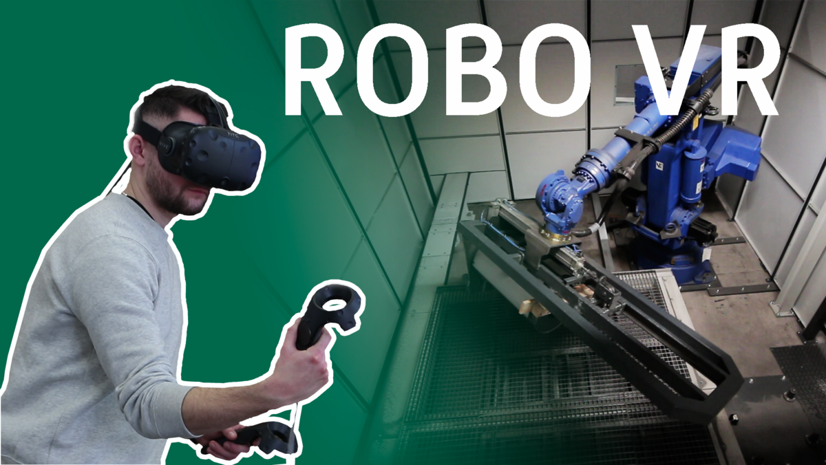 RoboVR: Virtual Reality in der Robotik