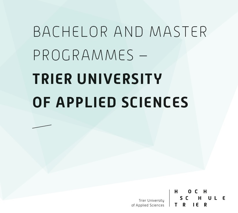 Cover Broschüre Bachelor and Master Programmes